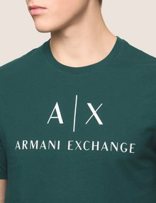 ARMANI EXCHANGE Logo-T-Shirt Herren b