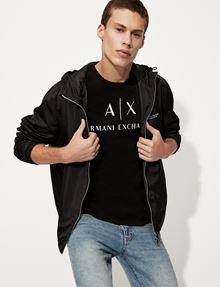 ARMANI EXCHANGE T-SHIRT CON STAMPA LOGATA Camiseta con logotipo Hombre a