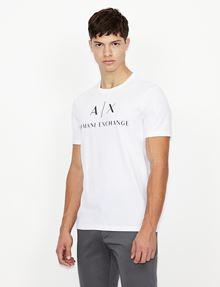 ARMANI EXCHANGE CLASSIC LOGO CREWNECK TEE Logo T-shirt Man f
