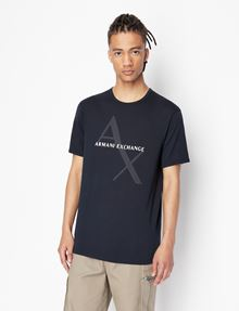 ARMANI EXCHANGE Logo-T-Shirt Herren f