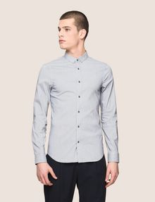 ARMANI EXCHANGE SLIM-FIT STRETCH SNAP SHIRT Striped Shirt Man f
