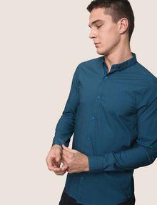ARMANI EXCHANGE SLIM-FIT STRETCH SNAP SHIRT Striped Shirt [*** pickupInStoreShippingNotGuaranteed_info ***] a