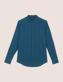 ARMANI EXCHANGE SLIM-FIT STRETCH SNAP SHIRT Striped Shirt [*** pickupInStoreShippingNotGuaranteed_info ***] r