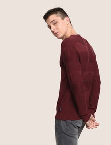 ARMANI EXCHANGE TONAL TRIANGLE V-NECK SWEATER V-Neck Man a