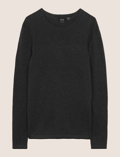TONAL LOGO CREWNECK SWEATER
