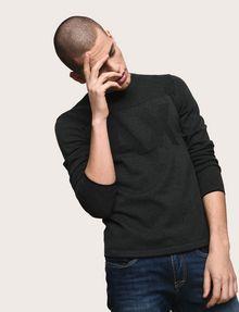 ARMANI EXCHANGE TONAL LOGO CREWNECK SWEATER Pullover Man a