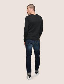 ARMANI EXCHANGE TONAL LOGO CREWNECK SWEATER Pullover Man e