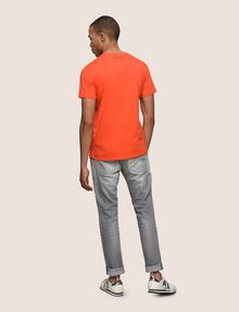 ARMANI EXCHANGE MESH LOGO V-NECK TEE Logo T-shirt Man e