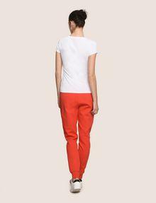ARMANI EXCHANGE METALLIC ARC LOGO TEE Logo T-shirt Woman e