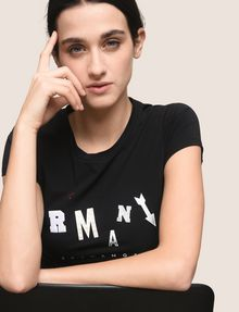 ARMANI EXCHANGE T-shirt au logo Femme a