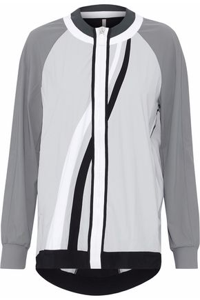 NO KA 'OI Color-block stretch jacket