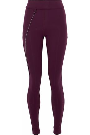 NO KA 'OI Bead-embellished stretch leggings