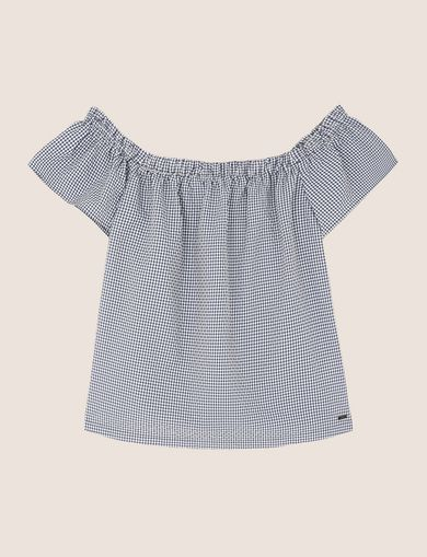 ARMANI EXCHANGE S/S Trikot-Top Damen R