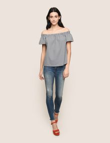 ARMANI EXCHANGE S/S Top tejido [*** pickupInStoreShipping_info ***] d