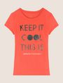 ARMANI EXCHANGE KEEP IT COOL THIS IS A|X TEE Non-logo Tee Woman r