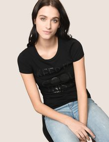 ARMANI EXCHANGE KEEP IT COOL THIS IS A|X TEE Non-logo Tee Woman a