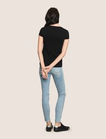 ARMANI EXCHANGE KEEP IT COOL THIS IS A X TEE Non-logo Tee Woman e