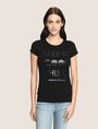 ARMANI EXCHANGE KEEP IT COOL THIS IS A|X TEE Non-logo Tee Woman f