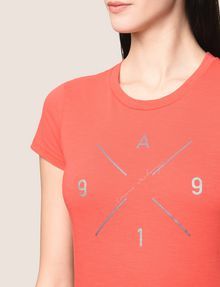 ARMANI EXCHANGE HIP X LOGO TEE Logo T-shirt Woman b