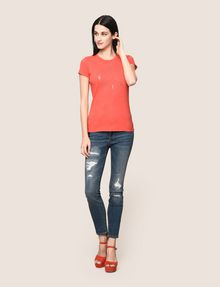 ARMANI EXCHANGE HIP X LOGO TEE Logo T-shirt Woman d