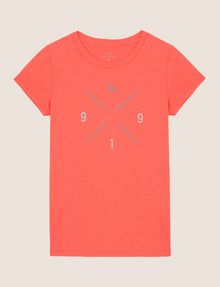 ARMANI EXCHANGE HIP X LOGO TEE Logo T-shirt Woman r