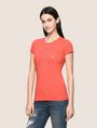 ARMANI EXCHANGE HIP X LOGO TEE Logo T-shirt Woman f