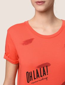 ARMANI EXCHANGE OH LA LA LIPS TEE Graphic T-shirt Woman b