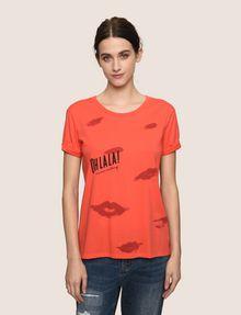 ARMANI EXCHANGE OH LA LA LIPS TEE Graphic T-shirt Woman f