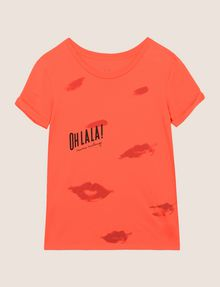 ARMANI EXCHANGE OH LA LA LIPS TEE Graphic T-shirt Woman r