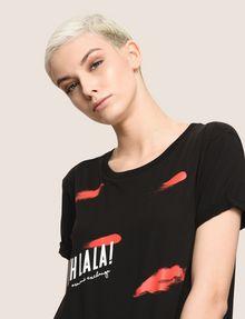 ARMANI EXCHANGE OH LA LA LIPS TEE Graphic T-shirt Woman a