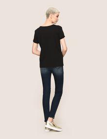 ARMANI EXCHANGE OH LA LA LIPS TEE Graphic T-shirt Woman e