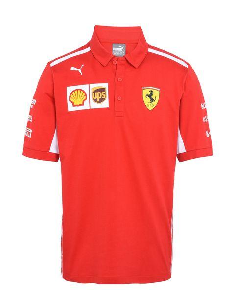 Scuderia Ferrari Online Store - Polo Scuderia Ferrari Replica 2018 - Polo a maniche corte