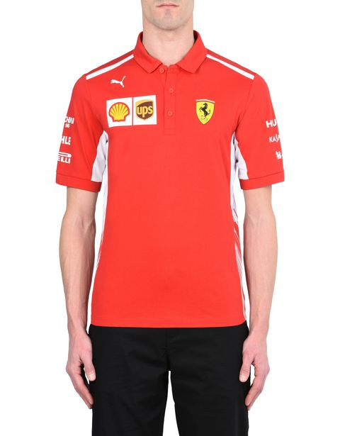 Replica Scuderia Ferrari 2018 polo shirt