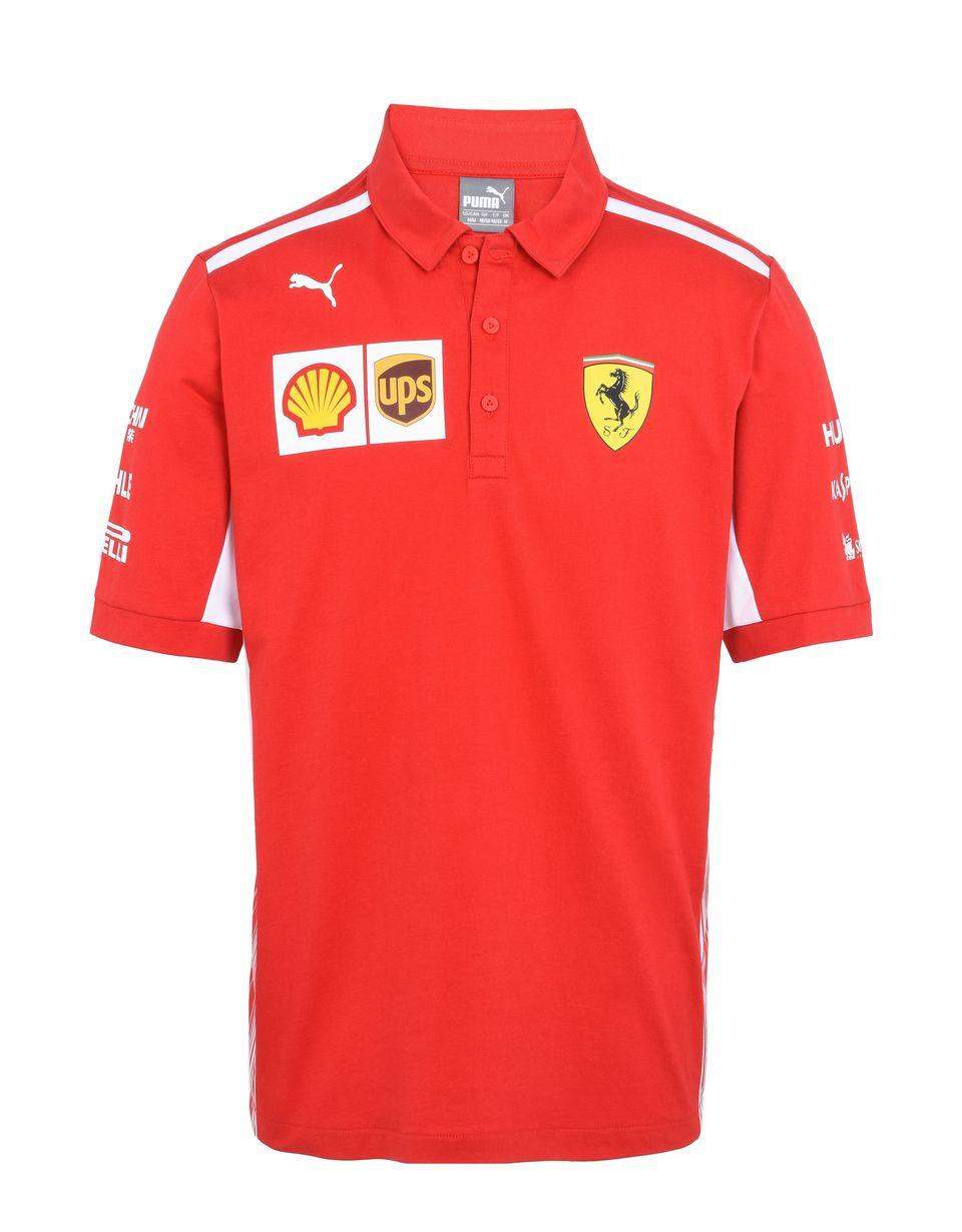 Scuderia Ferrari Online Store - Replica Scuderia Ferrari 2018 polo shirt - Short Sleeve Polos