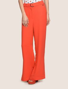 ARMANI EXCHANGE HIGH-RISE WIDE-LEG TROUSER Pant Woman f