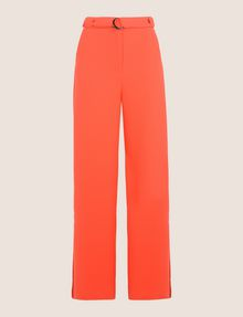ARMANI EXCHANGE HIGH-RISE WIDE-LEG TROUSER Pant [*** pickupInStoreShipping_info ***] r