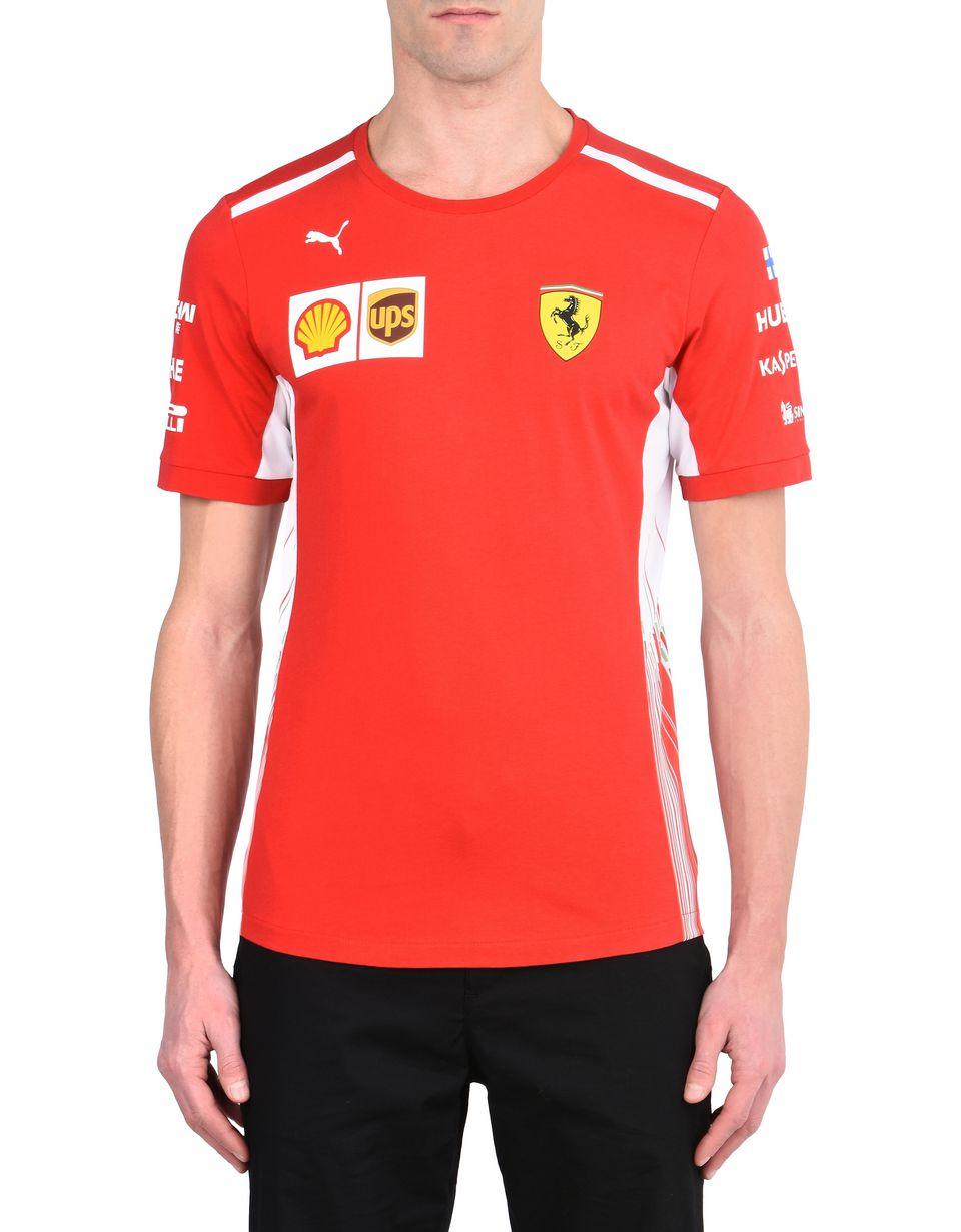 Scuderia Ferrari Online Store - Raikkonen Replica T-shirt - Short Sleeve T-Shirts
