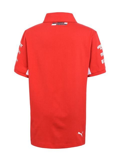 Scuderia Ferrari Replica 2018 polo shirt for teens