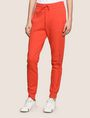 ARMANI EXCHANGE TONAL EMBROIDERY SWEATPANTS Fleece Pant Woman f