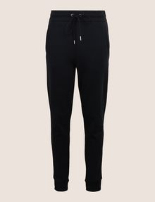 ARMANI EXCHANGE TONAL EMBROIDERY SWEATPANTS Fleece Trouser Woman r