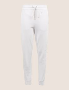 ARMANI EXCHANGE TONAL EMBROIDERY SWEATPANTS Fleece Pant Woman r