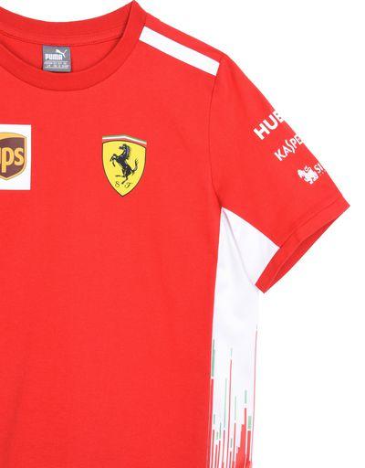 Scuderia Ferrari Online Store - Scuderia Ferrari Replica 2018 T-shirt for teens - Short Sleeve T-Shirts