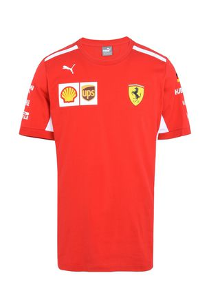 Scuderia Ferrari Online Store - T-shirt Vettel Replica - T-shirt manica corta