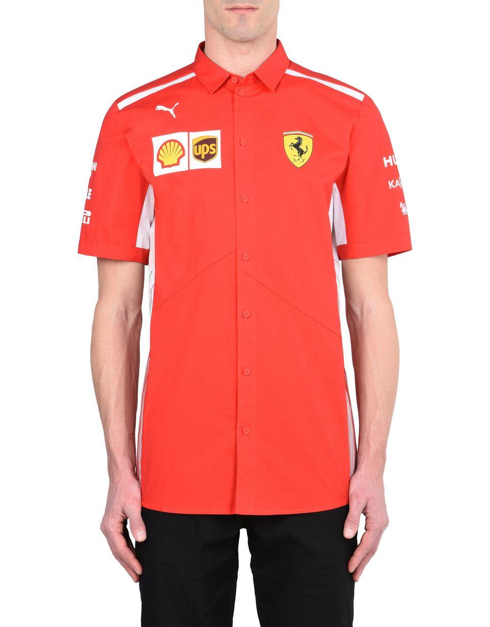 Scuderia Ferrari Online Store - Replica Scuderia Ferrari 2018 shirt - Short Sleeve Shirts