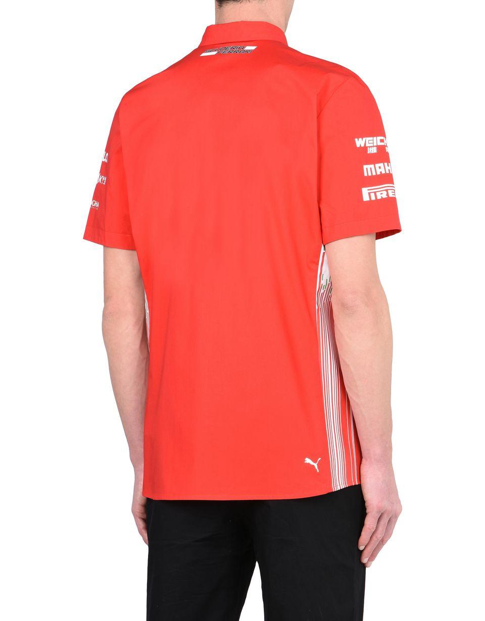 Scuderia Ferrari Online Store - Hemd Scuderia Ferrari Replica 2018 - Kurzärmlige Hemden