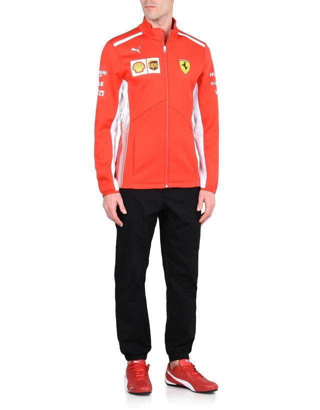 Scuderia Ferrari Online Store - Куртка Scuderia Ferrari Replica 2018 из ткани Softshell - Полевые куртки