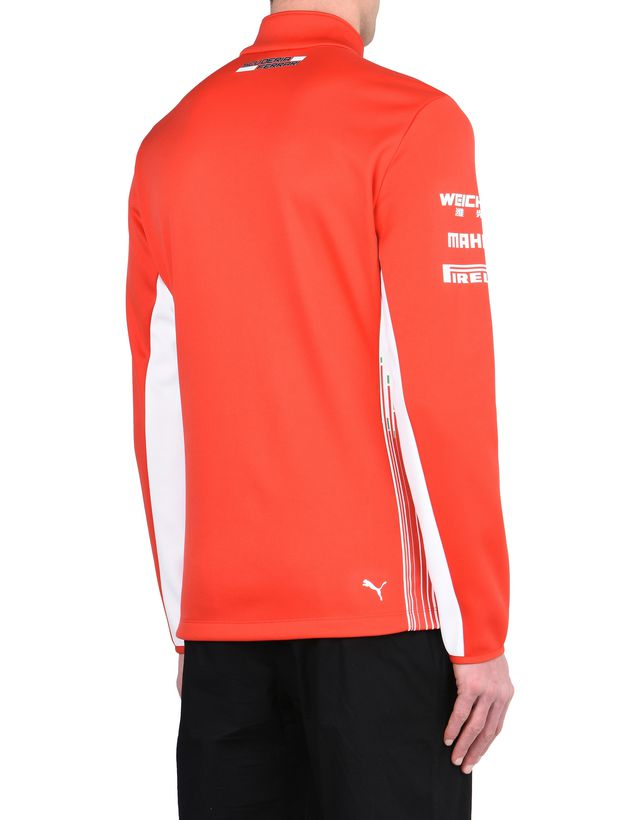 corsa puma jacket jersey price distress men rosso p ferrari