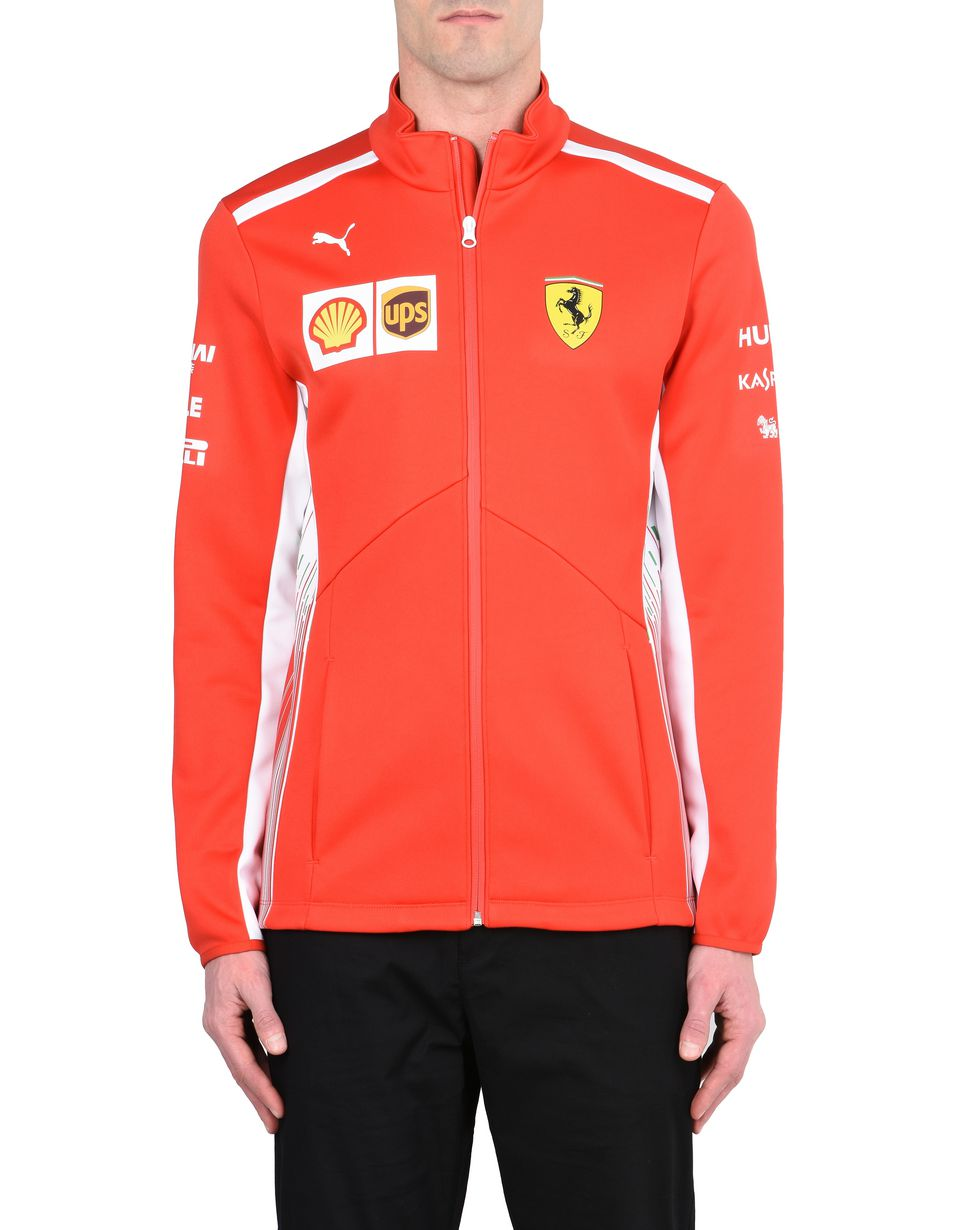 Scuderia Ferrari Online Store - Veste en Softshell Scuderia Ferrari Replica 2018 - Vestes multipoches
