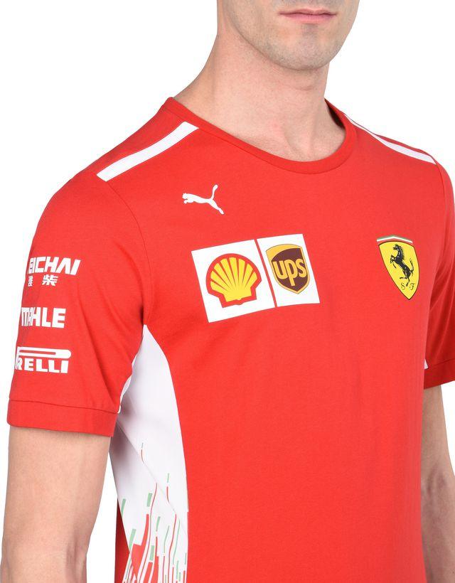 Scuderia Ferrari Online Store - Replica Scuderia Ferrari 2018 T-shirt - Short Sleeve T-Shirts