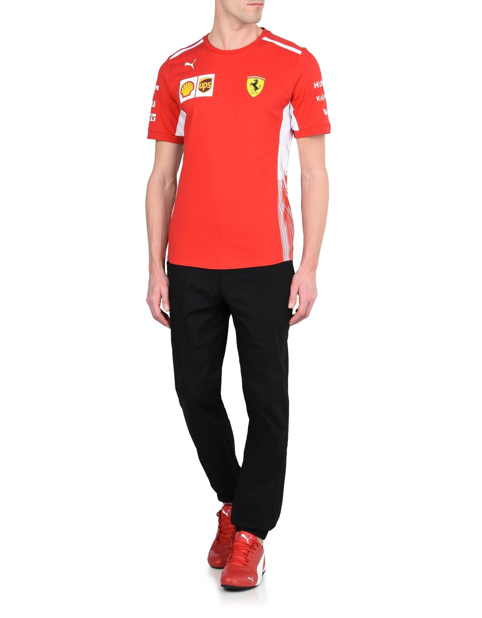 Scuderia Ferrari Online Store - Футболка Scuderia Ferrari Replica 2018 - Футболки с короткими рукавами